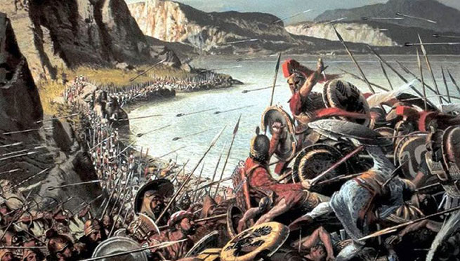 a history of the battle between the persian empire and the greeks The persian empire even encompassed contact us home \ history of war \ ancient wars \ ancient persian war written the greeks won the battle.