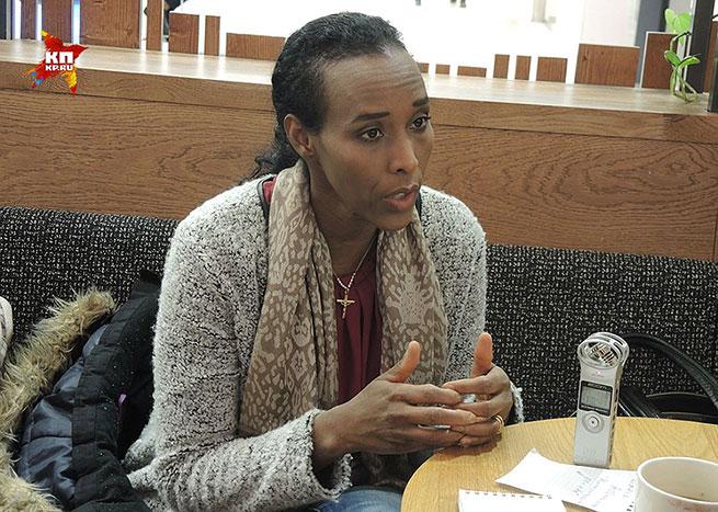 Секс с сомалийкой