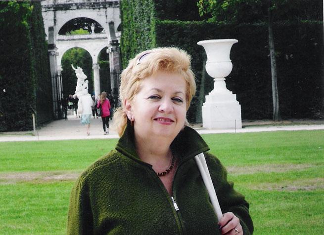 Внучка В.И.Иоаниди Елена