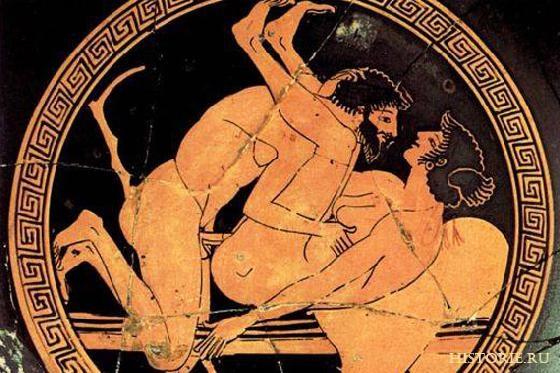 Анальный секс в древней греции  Девки
