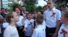 Возложение венков к памятнику советскому солдату в Каллифее
