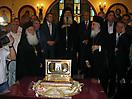 Мощи Серафима Саровского в Греции