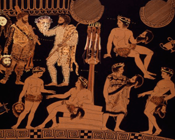 Древнегреческое искусство театр