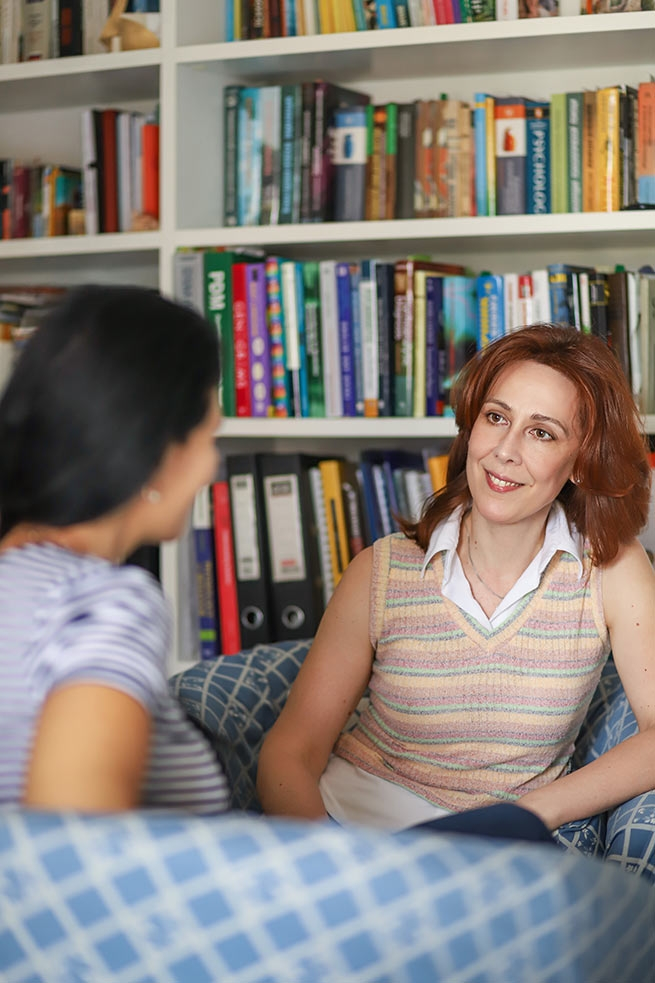Русскоязычный психолог - Екатерина Олеговна Томас