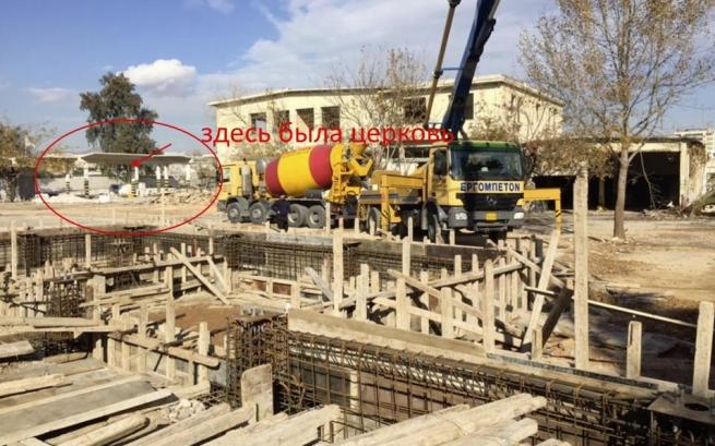Власти Греции разрушают церковь, чтобы построить.... мечеть(обновлено)