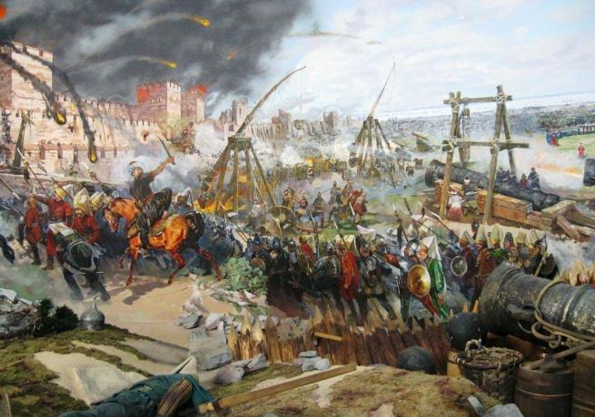 29 мая 1453 года. Падение Константинополя и Византийской империи