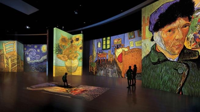 Мультимедийная выставка «Ван Гог Жив» в Мегароне Афины