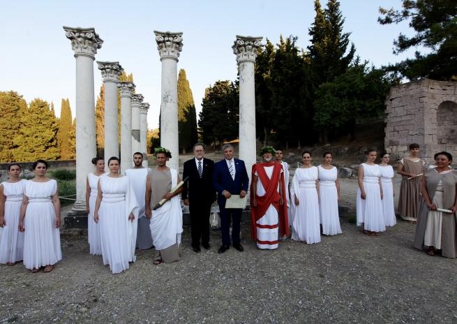 Клятва Гипократа в древнем Асклипио на Косе