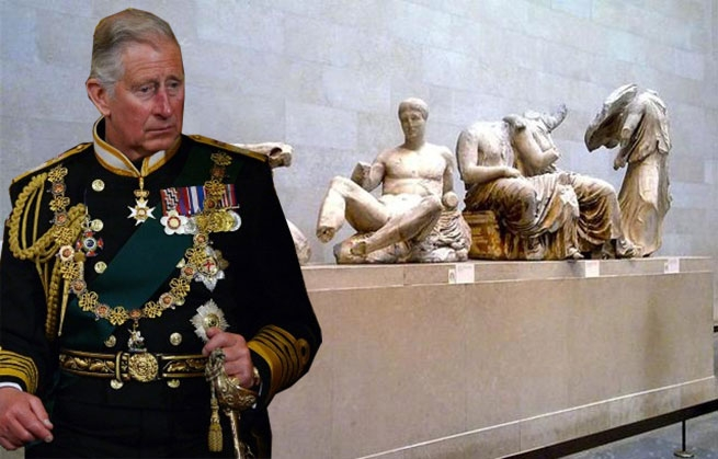 Президент Павлопулос напомнил принцу Чарльзу об украденых  мраморах Парфенона
