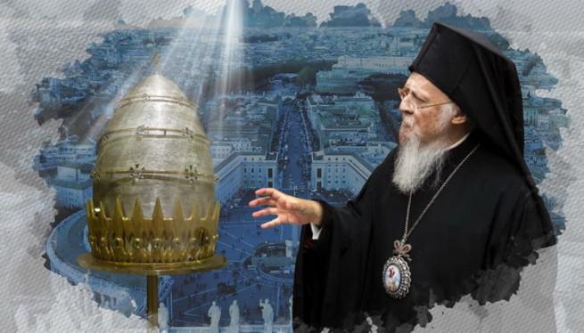 Поведение патриарха Варфоломея все больше говорит о папских амбициях