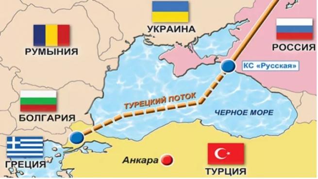 «Газпром» построил 80% морской части газопровода «Турецкий поток»