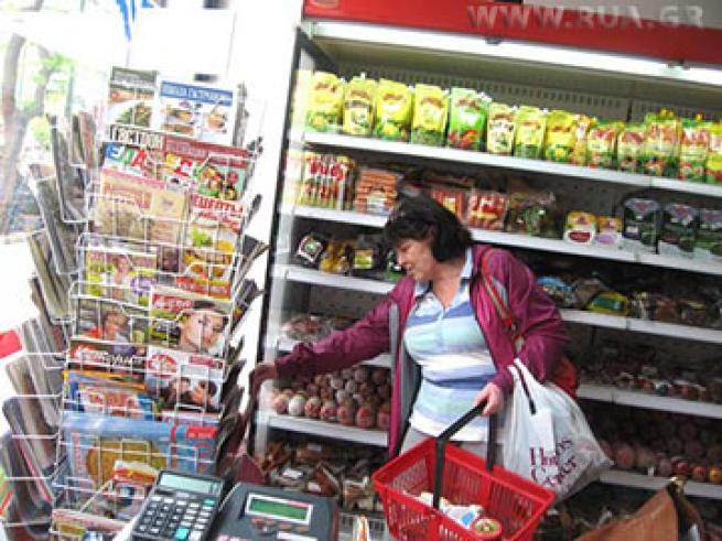 ''Русские'' магазины в Греции