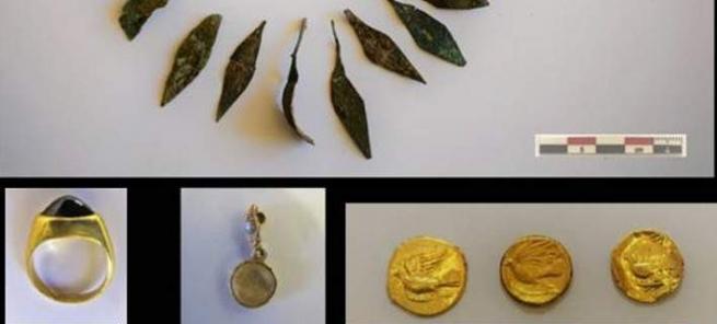 Уникальные украшения обнаружили археологи возле Коринфа