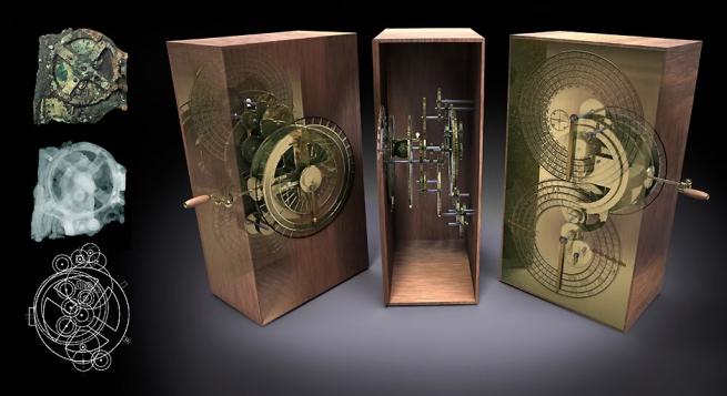 Таинственный Антикитерский механизм возможно более ценный,чем Мона Лиза