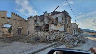 Землетрясение на Самосе: 2 погибших, 8 раненых