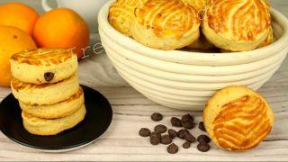 Апельсиновое песочное печенье.