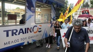 «Необъявленная» забастовка железнодорожников поставила пассажиров в затруднительное положение