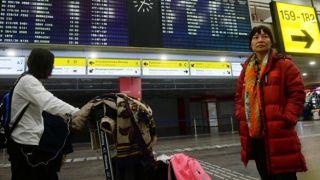 Китайские туристы из очага коронаровируса прибыли в Грецию
