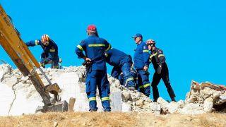 Землетрясение на Крите: 2500 палаток для пострадавших
