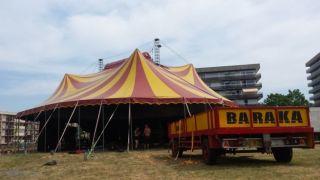 В Элефсине даст первое представление французский цирк Барака