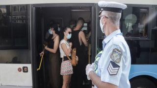 Коронавирус: данные полиции о проверках соблюдения санитарного протокола