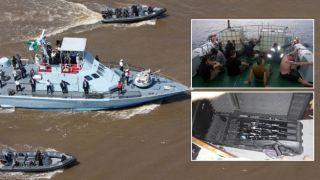 Греческие пираты были арестованы в Нигерии