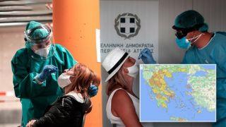 Хроники коронавируса: 1211 новых случаев в Греции, 114 интубированных, 12 умерших