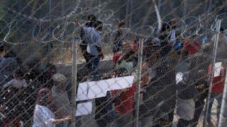 На острове Самос, растет нетерпимость в отношении мигрантов