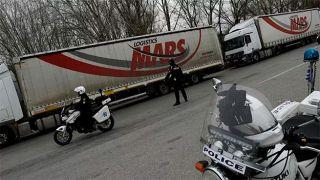 Дальнобойщики заблокируют погранпереход Эвзони