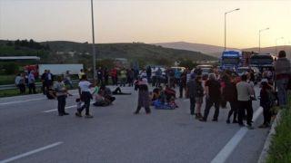 Марш протеста устроили беженцы