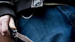 Арест трех злоумышленников, напавших с ножом на молодого человека