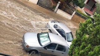 Потоп в Ано Глифаде: сильные ливни обрушились на Аттику