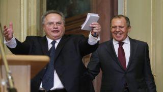 Никос Котзиас: Лавров - один из лучших дипломатов в мире!