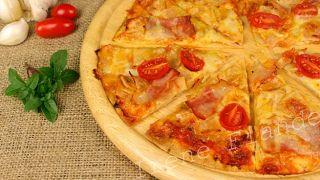 Супер быстрая пицца на тортилье(лаваше)
