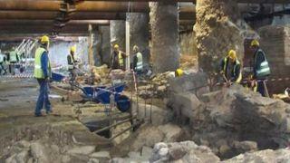 Презентация исследований археологических находок в метро Салоники