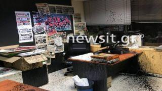 Анархисты атаковали посольство Австралии и офисы греческих газет