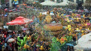 Карнавал в Патрах - против экономического кризиса