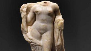 Богиня любви восстала из забвения при строительстве Салоникского метро
