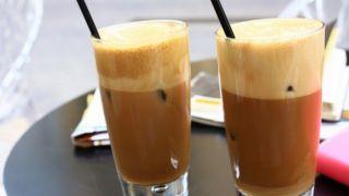 Холодный кофе фраппе