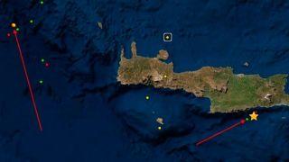 Землетрясение 5,4 балла на Крите