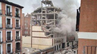 Испания: сильнейший взрыв в центре столицы
