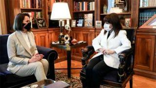 Тихановская провела встречи с президентом и министром иностранных дел Греции