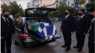Гроб с телом Фофи Генниматы прибыл в епархию (видео)