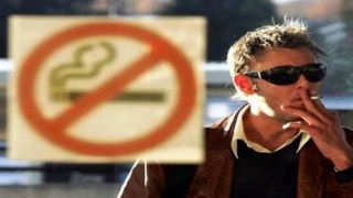 Борьба с курением: первый звоночек