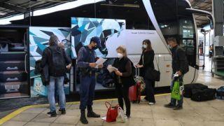 ΚΤΕΛ: штрафы пассажирам, у которых нет сертификата с отрицательным результатом теста на ковид