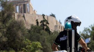 Опасность: преступность в Афинах