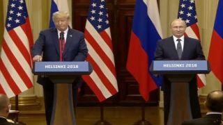 Трамп и Путин встречаются в Хельсинки