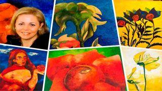Выставка художницы Катерины Маруды