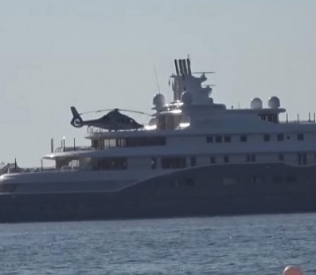 На Миконос прибыла одна из десяти самых дорогих яхт в мире