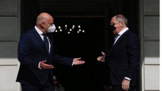 Дендиас и Лавров обсудили Восточное Средиземноморье, Кавказ и Кипр на встрече в Афинах